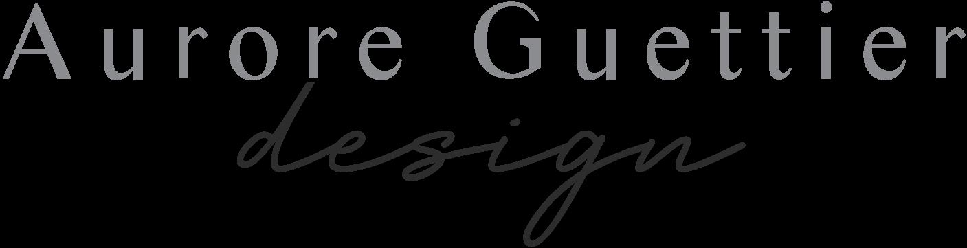 Logo Aurore Guettier Design Webdesigner pour femmes